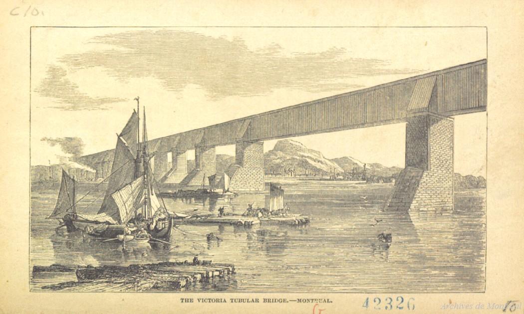 Pont Victoria, vers 1860, BM7-2_10P016_C10-42326