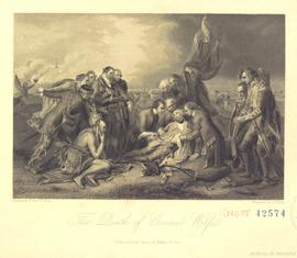 The death of general Wolfe. - [18-]