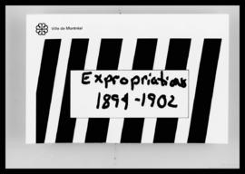 Rôle d'expropriations. - 1894-1902