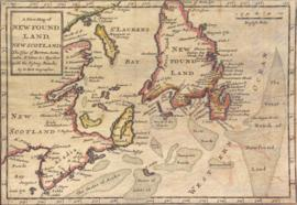 A new map of Newfound Land, New Scotland, the isles of Breton, Anticoste, St Johns &c. togeth...