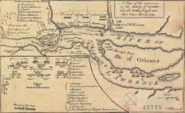 A plan of the operations at the taking of Quebec, and the battle fought near that city, sept 13 1...