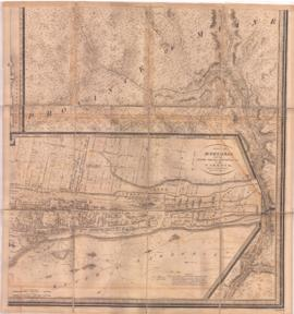 Town of Montreal with the rocks, shoals, soundings &c. in the harbour, shewing also the impro...