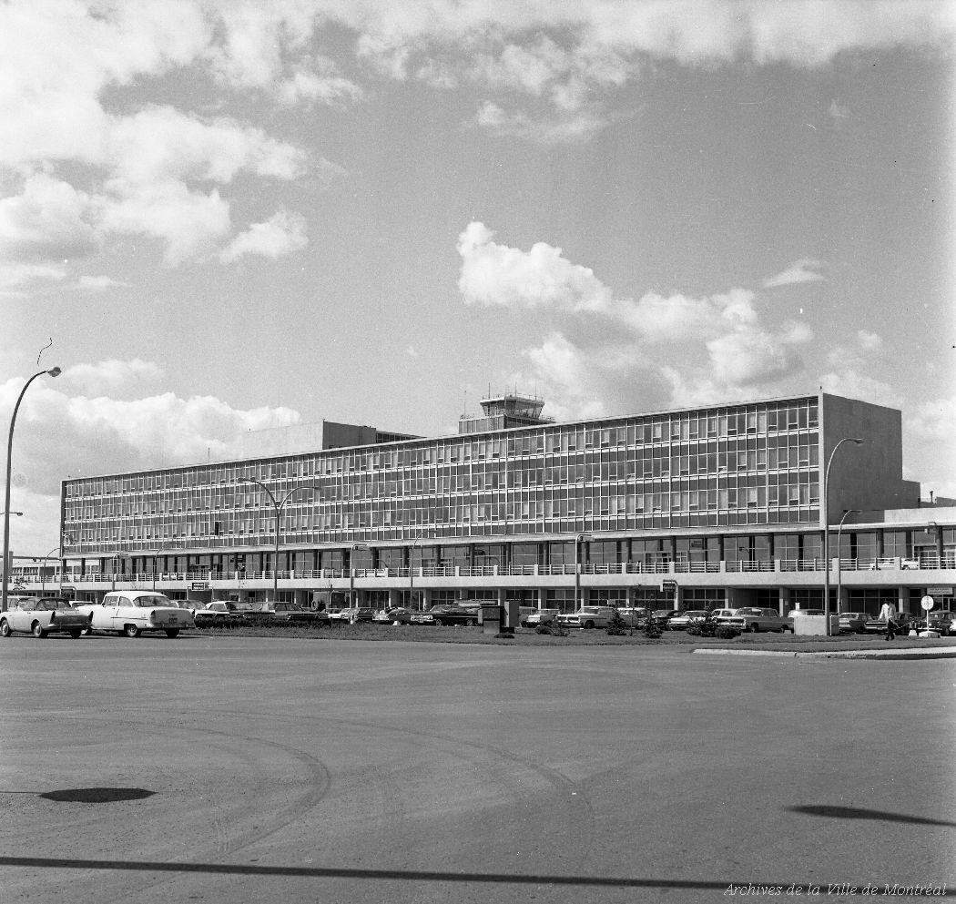 Vues de l'aéroport de Dorval. - 27 août 1963 VM94-A0110-008