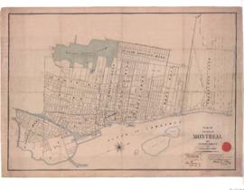 1889-1: Plan of the City of Montreal with its present boundaries and new division of wards / Draw...