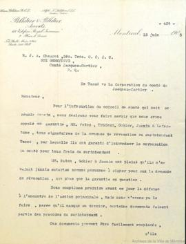 M. Tassé contre la corporation du comté de Jacques-Cartier . - 13 juin 1905 - 10 juin 1909