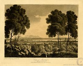 City of Montreal taken from the Mountain / Drawn on the Spot by G.Heriot Esq., Engraved by Cartwr...