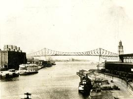 Pont Jacques-Cartier. - [1930?].