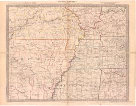 North America Sheet X. Parts of Missouri, Illinois, Kentucky, Tennessee, Alabama, Mississippi and...
