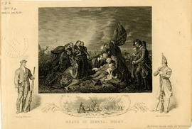 Death of General Wolfe : Disembarking the troops / Painted by B. West, R.A. ; Engraved by J. Roge...