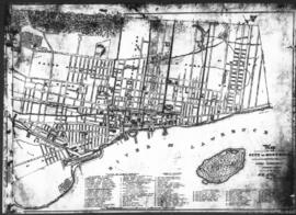 1851-2: Map of the City of Montreal shewing [sic] the latest improvements. - 1851