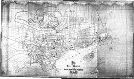 1877-3: Plan of the City of Montreal showing water mains, fire hydrants and stop valves / Prepare...