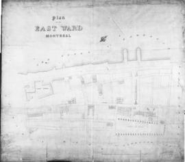 1843-3: Plan of the East Ward Montreal. - 1843
