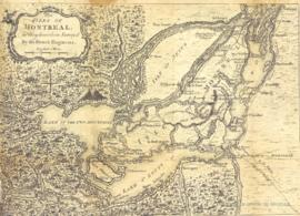 The Isles of Montreal as they have been survey'd By the French Engineers. -1761