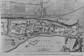 1758-2: Plan of the town and fortifications of Montreal or Ville-Marie in Canada. - [19-] (origin...