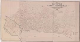 1892-1: Plan of the City of Montreal, location of sewers / Drawn by James H. Parent ; Percival St...
