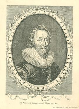 Sir William Alexander . - [19-]