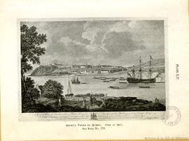 A General View of Quebec, from Point Levy. To the Honorable Sr.Charles Saunders Vice Admiral of t...