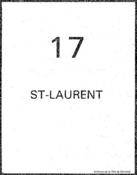 Quartier 17 - Saint-Laurent.