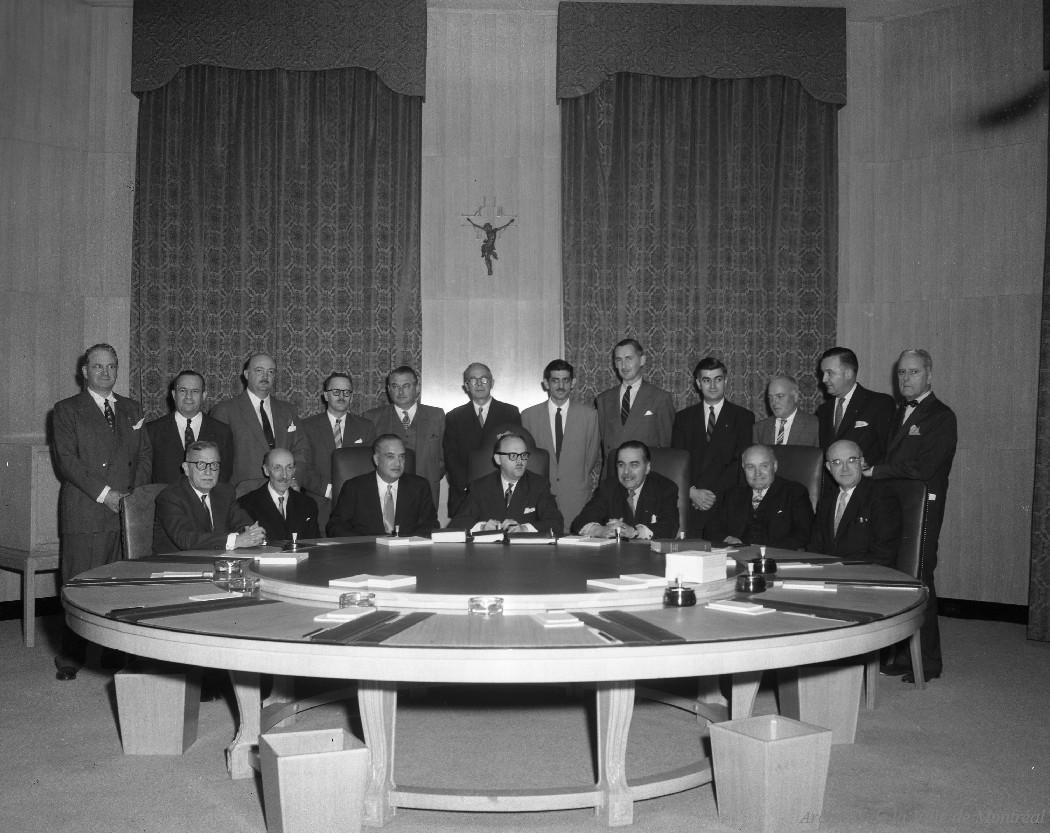 Conseil des Arts de Montréal, 22 octobre 1956, VM94-Z655-01
