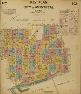 Insurance plan of city of Montreal, volume 3 / Underwriter's Survey Bureau Limited . - 1935 ...
