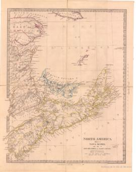 North America Sheet I. Nova Scotia: New Brunswick & East Canada. - 1855