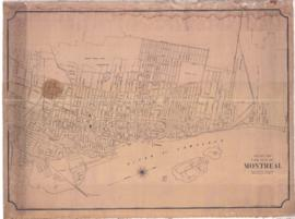 1890-2: Map of the City of Montreal / Published by C. Moretti, Draughtsman of the Montreal Water ...