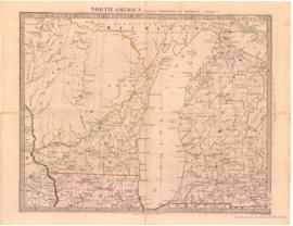 North America Sheet V. Parts of Wisconsin and Michigan. - 1853