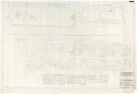 Municipal Golf course, service area : Planting plan. - 5 mars 1957