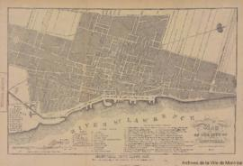 1843-1: Map of the city of Montreal. - 1893 (original créé en 1843)