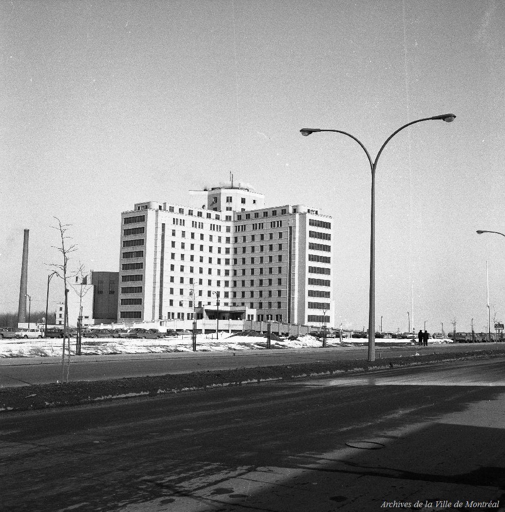 Hôpital Maisonneuve. - 25 mars 1968. CA M001 VM094-Y-1-01-D0506