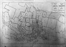 Index map of cencus tracts metropolitain area of Montreal. - 11 novembre 1953