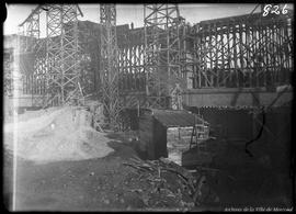 Construction du pont Lasalle. - [1919?]