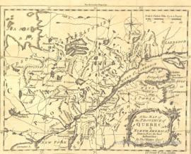 A New Map of the Province of Quebec in North America, Drawn from the best Authorities: By Tho. Kitchin Geog. -1764