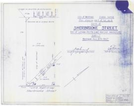 Plan showing part of lot no. 9 North of Sherbrooke street. - 9 décembre 1947