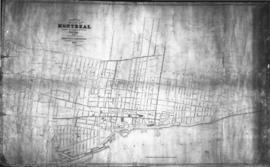 1852-1: Plan of the City of Montreal shewing [sic] the direction of the Water pipes together with...