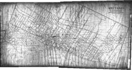 1856-1: Plan of the city of Montreal compiled for the purposes of shewing [sic] the present state...