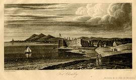 Fort Chambly / Drawn by col. Bouchette; J.&C. Walker sculp. . - [vers 1815]