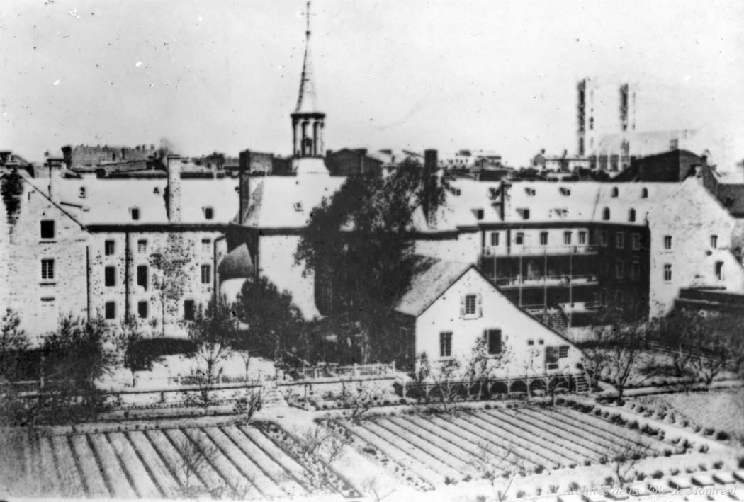 Montréal : Hôpital Général vers 1865 / Reproduction d'Edgar Gariépy . - [19-] CA M001 BM042-Y-1-P0709