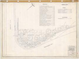 Municipal Golf : Planting plan, North-East corner of Sherbrooke & Viau streets. - 7 mars 1957