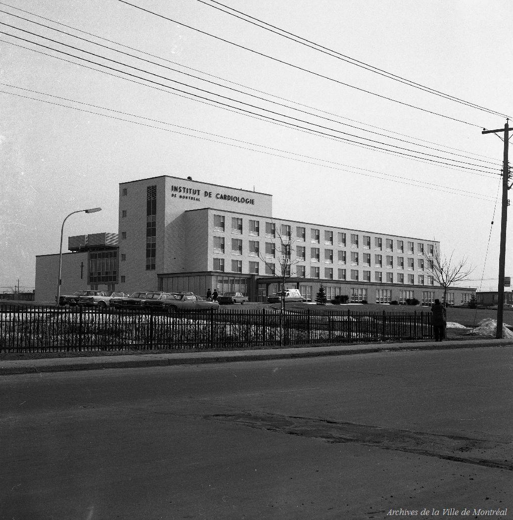 Institut de cardiologie de Montréal, 26 mars 1968, VM94-A0526-001