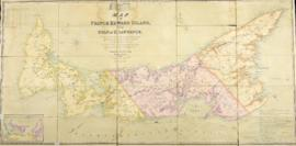 Map of Prince Edward Island, in the Gulf of St. Lawrence, Comprising the latest Topographical inf...
