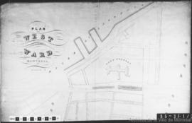 1843-3: Plan of the West Ward Montreal. - 21 novembre 1843