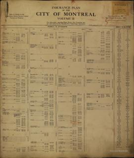 Insurance plan of city of Montreal, volume 2 / Underwriter's Survey Bureau Limited . - 1926 ...
