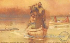 Marquette's Voyage of Discovery -1673 / Missouri Historical Society St. Louis . - [18-]