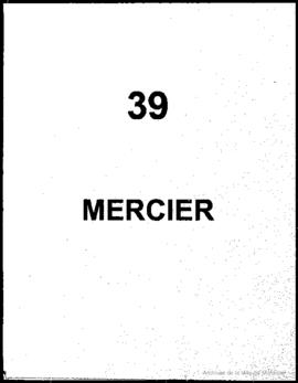 Quartier 39 - Mercier.